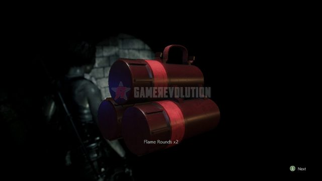 Resident Evil 3 Remake Flame Grenade Rounds