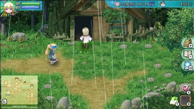 Rune Factory 4 Clothing Shop Location