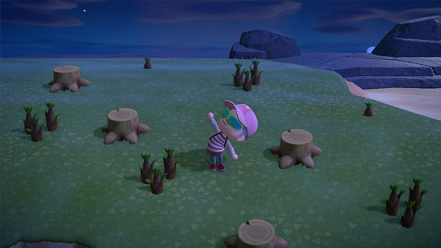 animal crossing new horizons bamboo trees