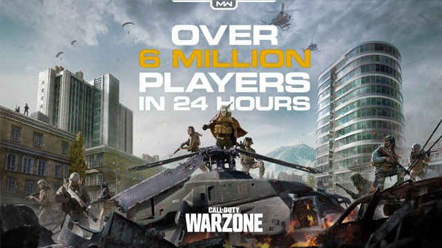 call of duty warzone launch