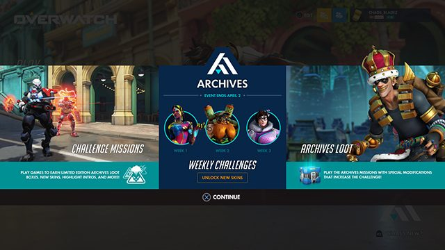 Overwatch 2.84 Update Patch Notes   New Archives event and balance changes