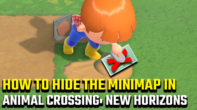 how to hide the minimap in Animal Crossing: New Horizons