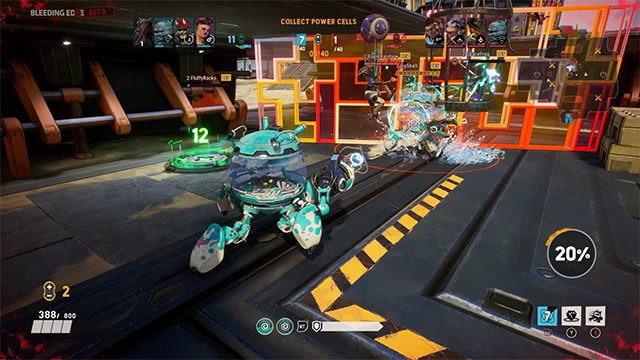 How Bleeding Edge's dolphin in a mech, Mekko, came to be