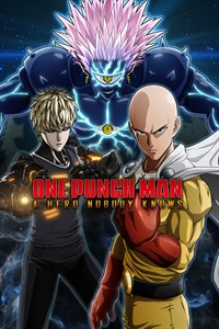 Box art - One Punch Man A Hero Nobody Knows