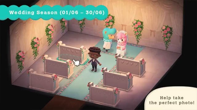 Animal Crossing: New Horizons Wedding Season
