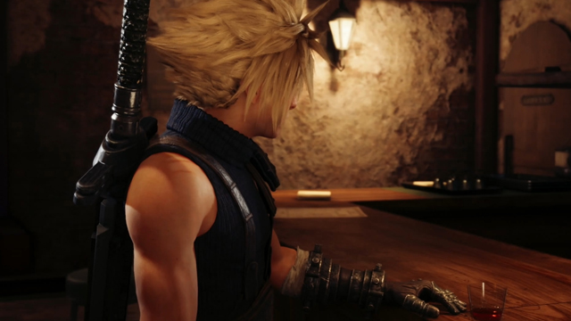 How to leave the 7th Heaven bar in Final Fantasy 7 Remake