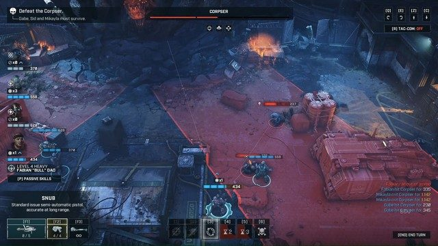 Gears Tactics Corpser Boss Fight Double Attack