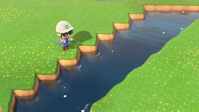 How do I make an Animal Crossing diagonal bridge smoothing