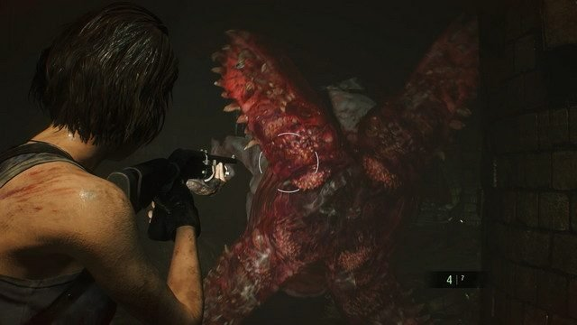 Resident Evil 3 Remake Hunter Gamma Mouth Open