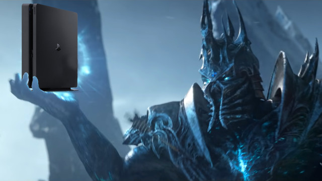 World of Warcraft PS4 release Lich King console