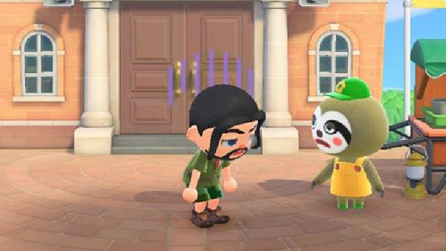 Animal Crossing Nature Day event Leif