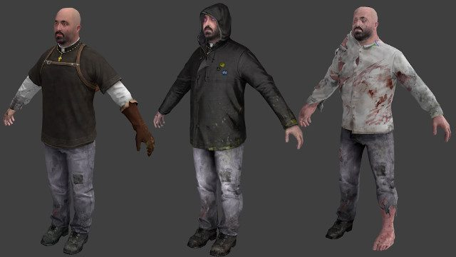 Canceled Half-Life game Ravenholm Father Grigori transformation