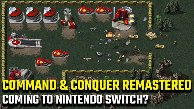 Command and Conquer Remastered Collection Nintendo Switch