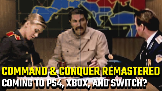 Command and Conquer Remastered Collection consoles