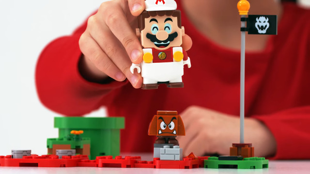 Lego Super Mario Power-Up Packs Fire Mario