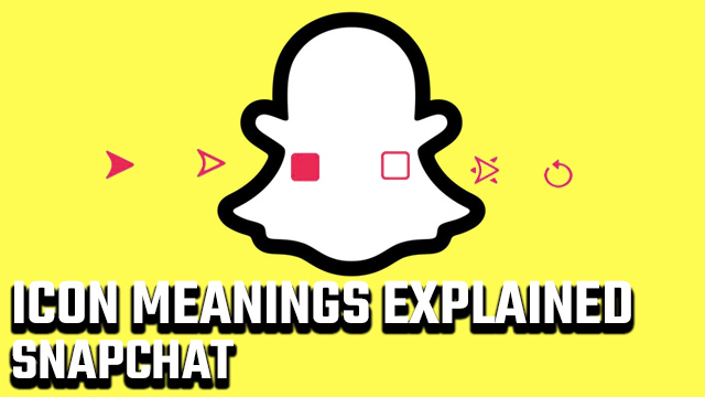 Snapchat Icon Meanings