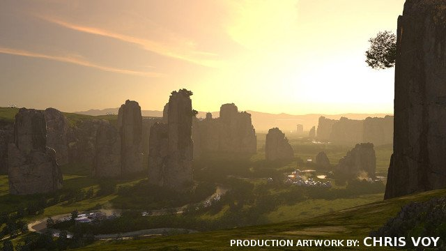 Star Wars: Tales from the Galaxy's Edge VR Game production artwork