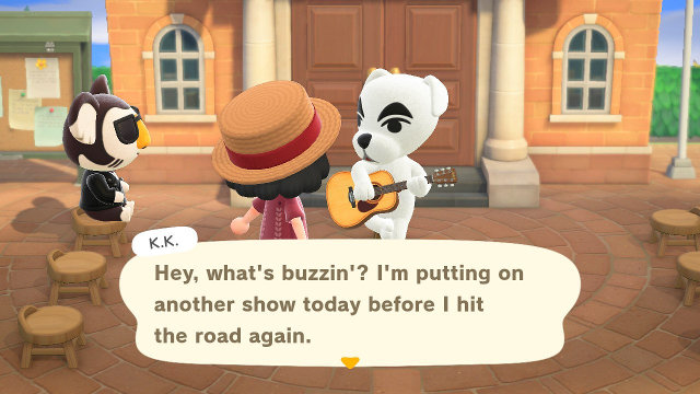 Why is there KK Slider on Friday in Animal Crossing? talking
