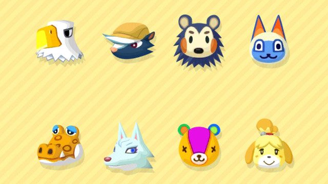 Nintendo mobile games Pocket camp characters