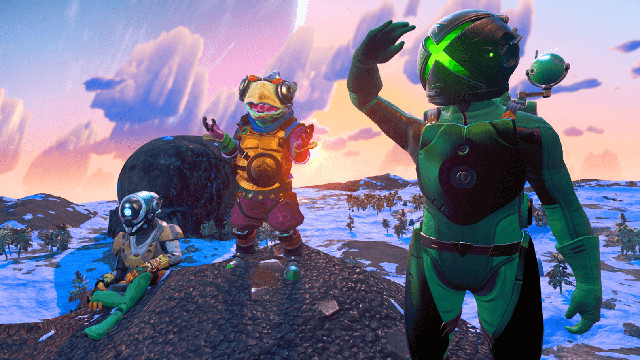 No Man's Sky Cross-Play Xbox Game Pass suits