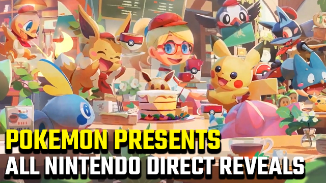 Pokemon Presents Nintendo Direct