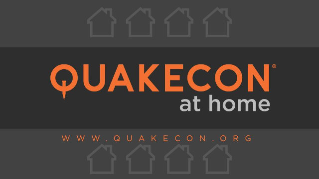Quakecon at Home banner