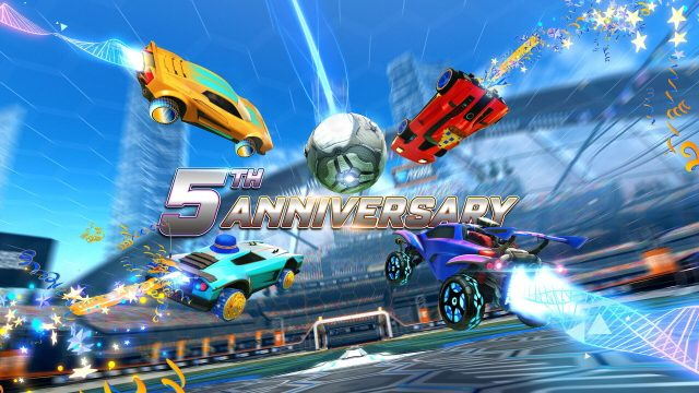 Rocket League 5th Anniversary Event end date