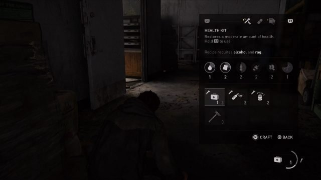 The Last of Us 2 How to Heal Health Kit