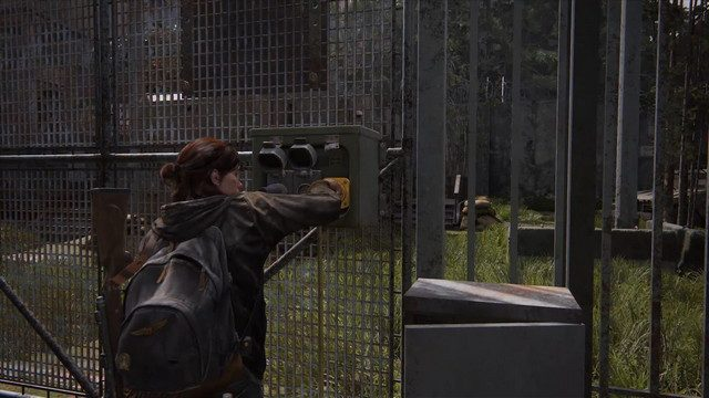 The Last of Us 2 Main Gate Plugin