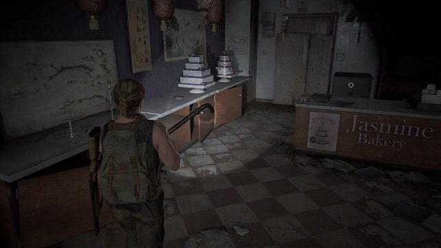 The Last of Us 2 Seattle Day 1 - Abby - Jasmine Bakery Safe Location