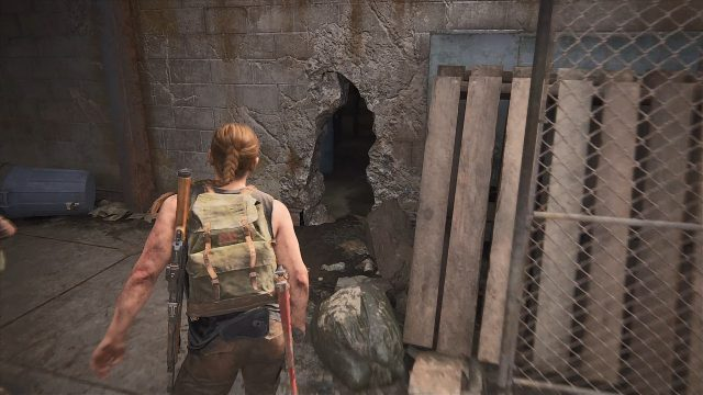 The Last of Us 2 Seattle Day 1 - Abby - The Big Win Safe Location