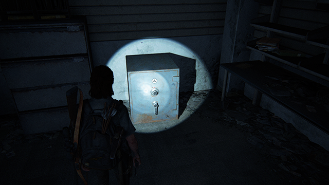 The Last of Us 2 Weston's Pharmacy Safe Location
