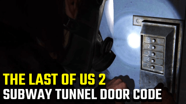 The Last of Us Subway Locked Door Code Panel