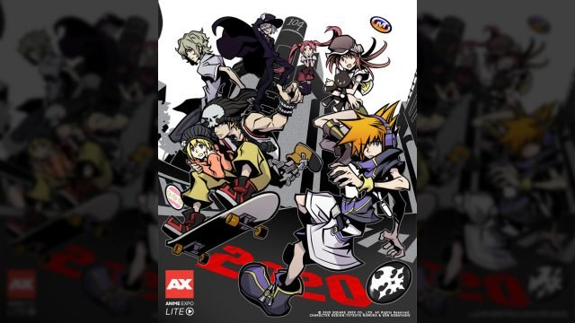The World Ends With You Anime Anime Expo Lite cover