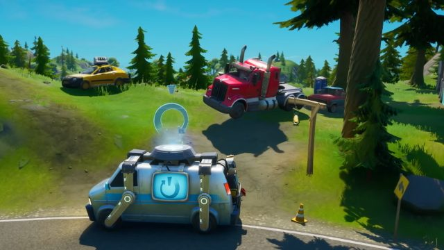 Where are cars in Fortnite