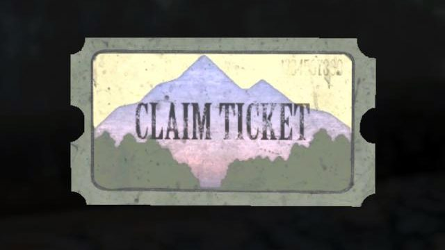 how to redeem fallout 76 pleasant valley claim ticket