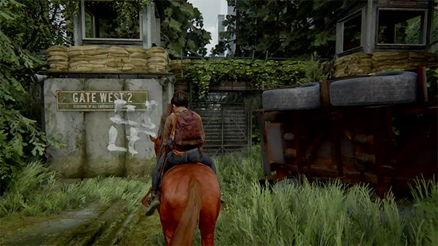 The Last of Us 2downtown Seattle Gate West-2 safe code location