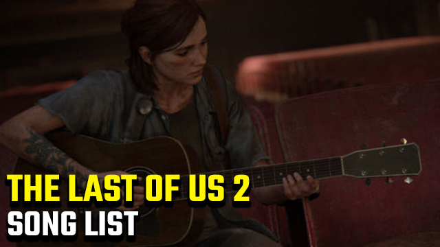 the last of us 2 soundtrack