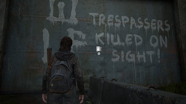 The Last of Us 2 Journal Entry Locations   Seattle Day 1   The Gate