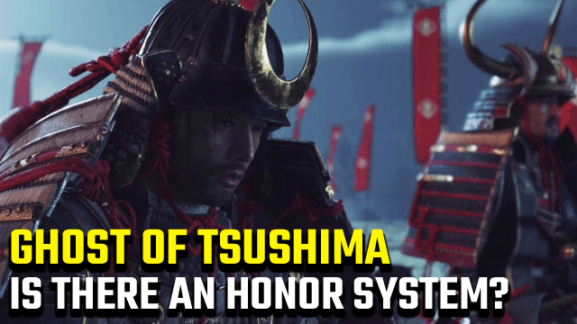 Ghost of Tsushima Honor System Morality Gauge