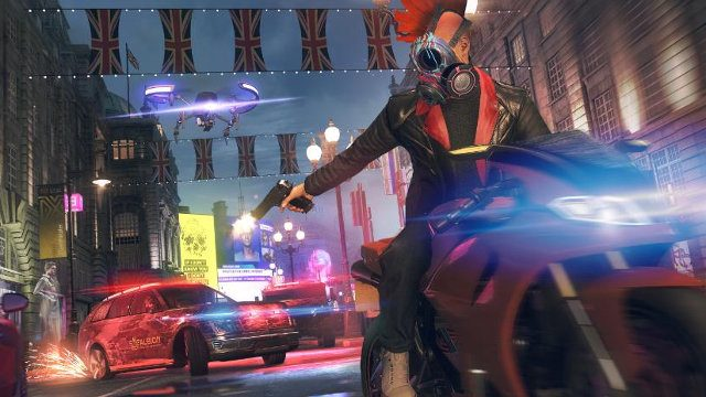 Watch Dogs: Legion Early Access motorcycle