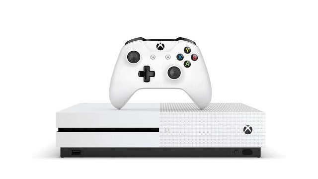 Xbox One S discontinued base model front
