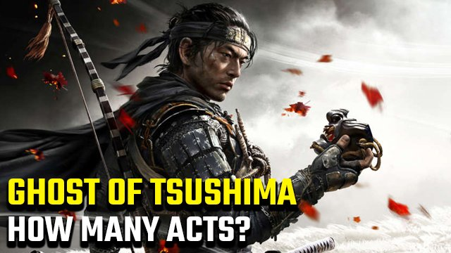 How many acts are there in Ghost of Tsushima