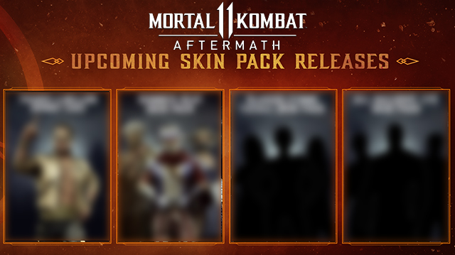 Mortal Kombat 11 Skin Pack Release Date | When are the skins coming out?