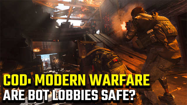Call of Duty: Modern Warfare bot lobbies