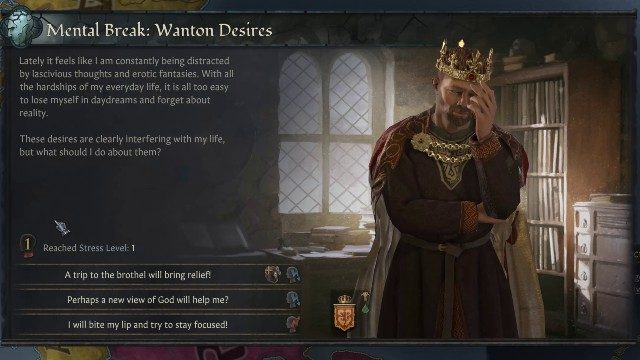 Crusader Kings 3 Review Stress