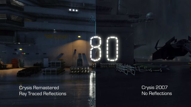 Crysis Remastered Epic Games Store graphics comparison