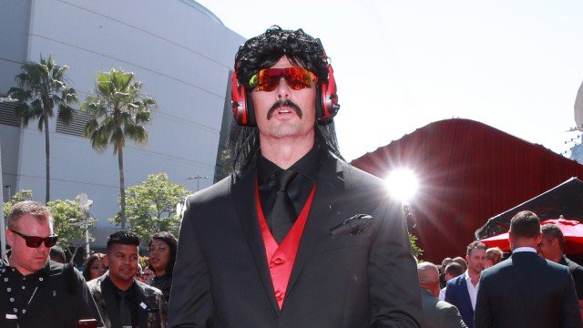Dr Disrespect YouTube IG Live come back