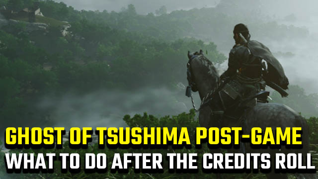 Ghost of Tsushima Post-Game
