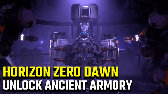 Horizon Zero Dawn Ancient Armory and Power cell Locations